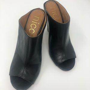 Nicole loopey slide sandals